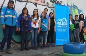 Recuperación punto crítico - Foto: Alcaldía Local Barrios Unidos