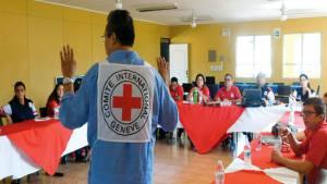 Talleres gratuitos de la Cruz Roja Colombiana - Foto: Red Justicia Previa