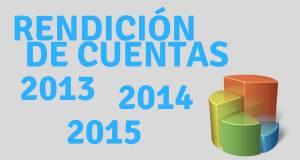 Rendición de cuentas 2013-2014-2015