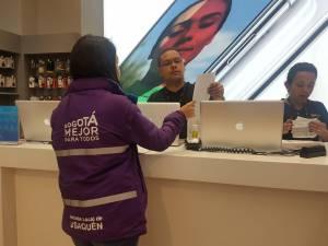 Sensibilización de más de 300 marcas en Unicentro - Foto: Alcaldía Local de Usaquén