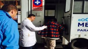 Unidades móviles de salud - Foto: Secretaría Distrital de Salud