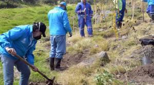 Acciones para reducir huella ecológica en el RDJ - Foto: Prensa Uaesp