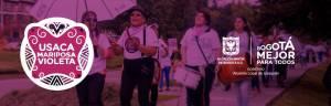 Usaca Mariposa Violeta - Foto: Alcadía Local de Usaquén