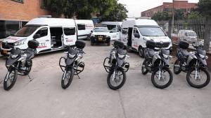 Vehículos para la Fiscalía - Foto: Secretaría de Seguridad
