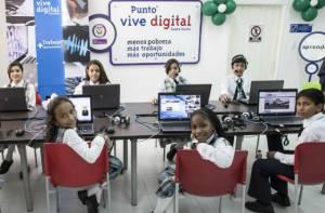 Vive Digital llega al Parque Entre Nubes - Foto: Alcadía Mayor de Bogotá