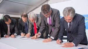 Firma convenio de cofinanciación entre Nación y el Distrito para el Metro - Foto: Comunicaciones Alcaldía / Andrés Sandoval