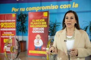 Victoria Castillo, gerente de la Lotería de Bogotá - Foto: Alcaldía de Bogotá