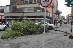 Con técnicos en campo, Codensa enfrenta emergencias - FOTO: Prensa IDIGER