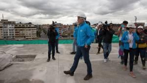 Avanzan obras de la Nueva Arena Metropolitana - Foto: Alcaldía Mayor de Bogotá.
