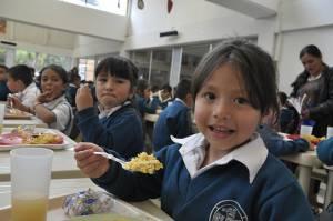 Este es el plan del Distrito para garantizar que no haya hambre en Bogotá. Foto:Secretaría de Educación
