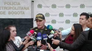 Policía destituye uniformado - FOTO: Prensa MEBOG
