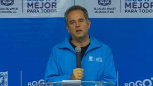 Gerente de Aguas de Bogotá, Juan Manuel García - Foto: Comunicaciones Alcaldía