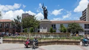 Monumento a Gonzalo Jiménez de Quesada - Foto: IDPC