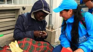 Ángeles Azules han adelantado más de 1.600 recorridos -  Foto: Secretaría Social
