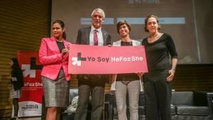 Pacto He for She - Foto: Prensa Alcaldía Mayor / Camilo Monsalve