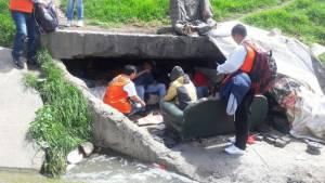 Atención de niños en las calles- Foto: Prensa Idipron