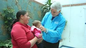 exitoso de niña que recuperó tras registrar desnutrición - Foto: Diego Bauman