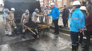 Reparación malla vial Avenida Boyacá - Foto: Prensa Alcaldía Mayor de Bogotá /  Camilo Monsalve