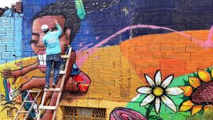 Mural localidad Ciudad Bolívar- FOTO: Prensa IDPAC