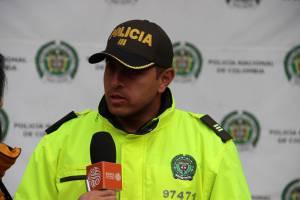Cnel Luis Urrego cte de Pol. Infancia y Adolescencia - FOTO: Prensa MEBOG