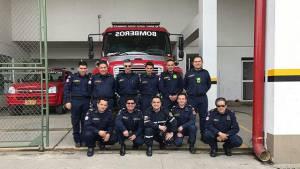 Todos los bomberos serán beneficiados con nuevos uniformes. Foto: Bomberos de Bogotá