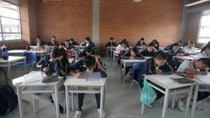 Más de 47.600 cupos recibió la Secretaría de Educación para grados 1° en adelante. Foto: Alcaldía de Bogotá