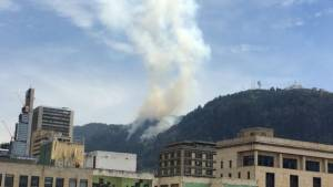 Incendio Forestal - Foto: bogota.gov.co