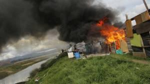 Incendio en Suba - Foto: DADEP