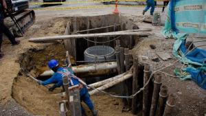 Obras de infraestructura - FOTO: Prensa Acueducto