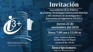Nueva política pública de Ciencia, Tecnología e Innovación se implementará en Bogotá