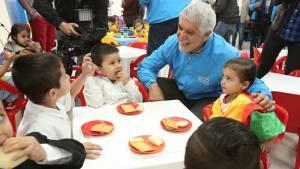 Está obra beneficiará a 189 niños menores de 4 años en la localidad de Los Mártires. Foto: Diego Bauman