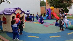 Once jardines infantiles de Usaquén cuentan con nueva dotación
