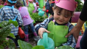 La Alcaldía está buscando niños menores de 4 años para que asistan a los jardines infantiles del Distrito