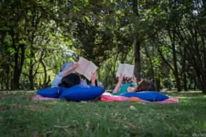 Segundo picnic literario de la Jardín Botánico de Bogotá