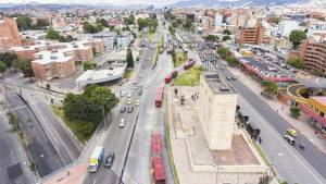 La autopista Norte, desde Los Héroes hasta la calle 183, será renovada. Foto: Andrés Sandoval.