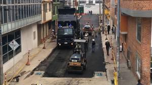 Intervención de huecos en Bogotá - Foto: Prensa UMV
