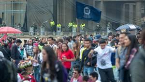Nueva jornada de marchas estudiantiles este jueves en Bogotá - Foto: Comunicaciones Alcaldía / Andrés Sandoval