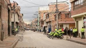 El barrio María Paz fue intervenido en julio por la administración Distrital - Foto: Alcaldía de Bogotá