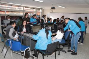 Más de 2.000 cupos se asignaron en jornada de 'Matriculatón' - Foto: Secretaría de Educación