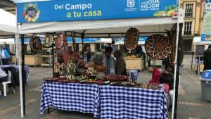 Mercado Campesino . Foto: Javier Cortés-Portal Bogotá