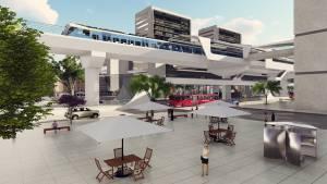 Concejo aprueba vigencias del metro - FOTO: Alcaldía Mayor de Bogotá/Render Metro