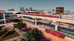 Render primera línea del Metro de Bogotá
