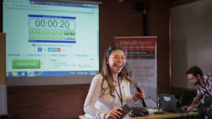 Mujeres potencian sus conocimientos en datos. Foto: Alta Consejería de las TIC.