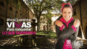 Bogotá le dice no a la violencia contra las mujeres - Foto: Secretaría de la Mujer