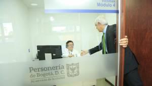 Apertura del nuevo Centro de Atención a la Comunidad de la Personería - Foto: Comunicaciones Alcaldía Bogotá / Diego Bauman