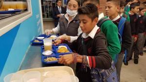 Entrega cocinca móvil colegio Nicolás Esguerra  - Foto: Comunicaciones Secretaría de Educación