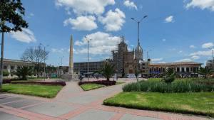 Obelisco de Los Mártires recuperado - Foto: Prensa Instituto de Patrimonio Cultural
