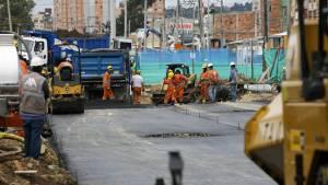 Obras en vías de Bogotá - Foto: Comunicaciones Alcaldía Mayor