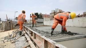Construcción de vías en Bogotá  - Foto: Comunicaciones Alcaldía Bogotá