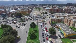 Obras de Avenida José Celestino Mutis - Foto: Prensa IDU